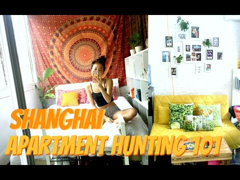 SHANGHAI APARTMENT HUNTING + useful chinese phrases