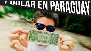 ¿QUE COMPRO con 1 DOLAR en PARAGUAY?