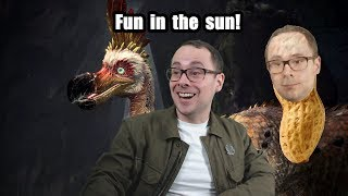 Fun in the sun! - (Monster Hunter World - PS4 Pro 1080p60 Graphics Setting)