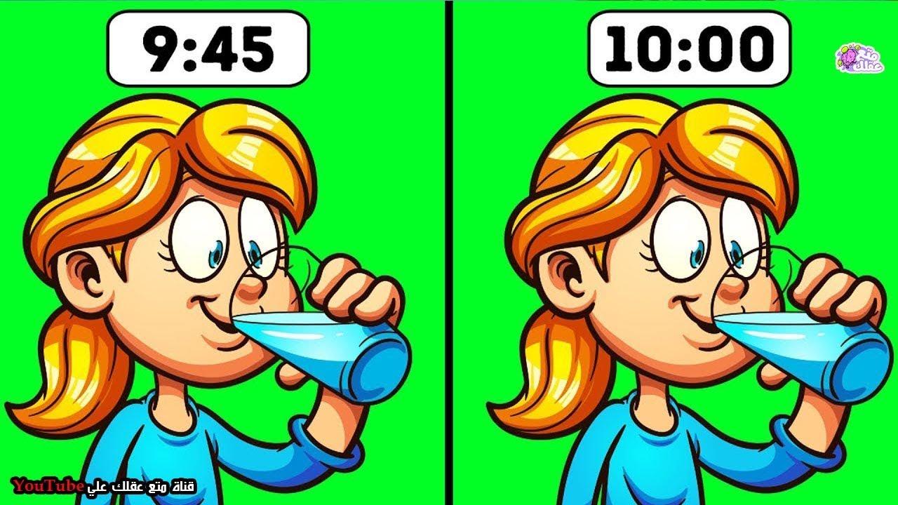 6 حالات لا تشرب فيها الماء ابداً  - متى يكون شرب الماء خطأ ؟!!