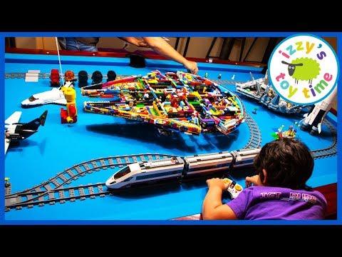LEGO MEGA TRAIN CITY!