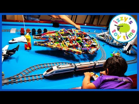 LEGO MEGA TRAIN CITY!