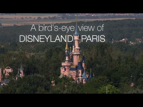 disneyland paris a bird 39 s eye view youtube. Black Bedroom Furniture Sets. Home Design Ideas