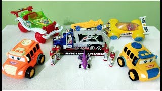 TRUCK & CARS | TOY TRAIN FOR KIDS |