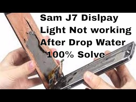 How To Fix Display Light Solution On All Samsung Phones 100% Tested