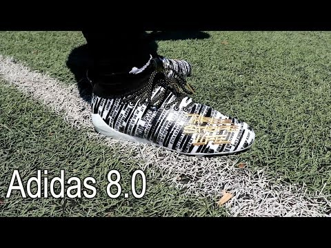 ThaKiddKillz  Adidas AdiZero 8.0 Performance Test