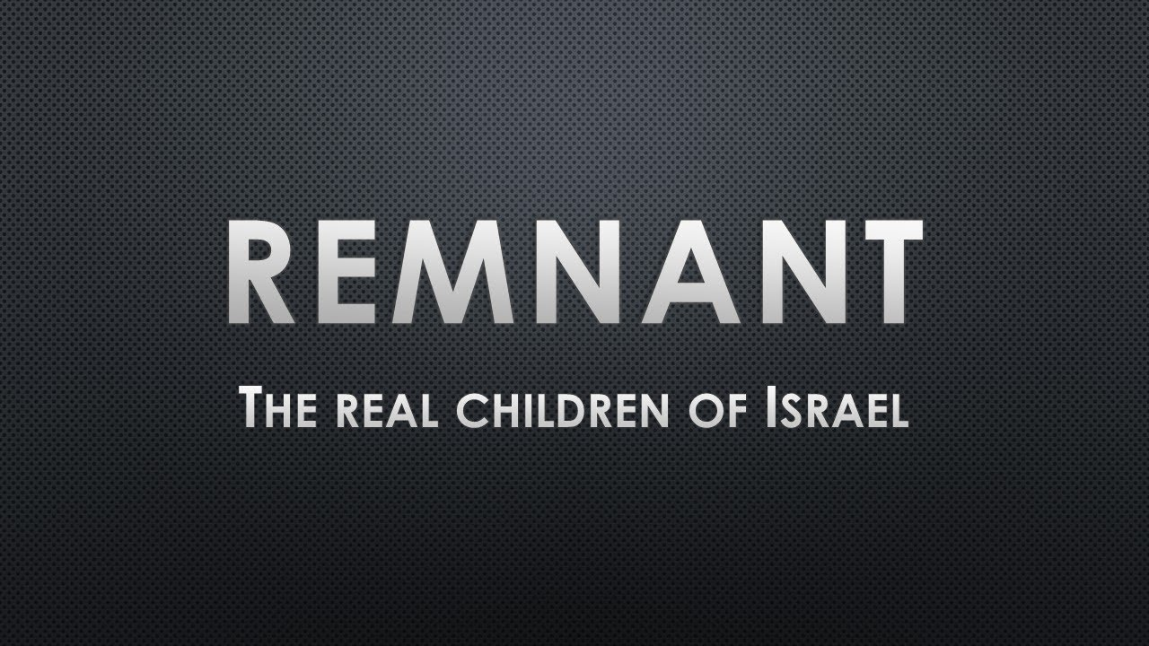 1 Film Intro to Remnant DVD The Real Children Of Israel