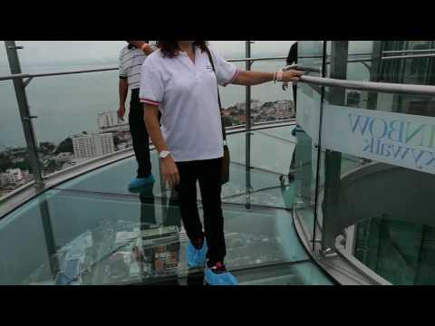 Visit Komtar 68th floor Rainbow Skywalk Komtar in Penang Malaysia
