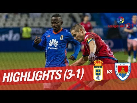 Resumen de Real Oviedo vs CD Numancia (3-1)