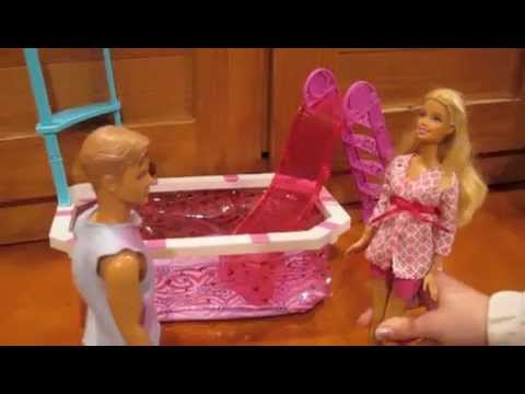Barbie and Ricky go to the Pool