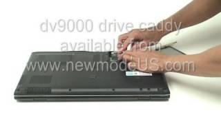 Adding a 2nd Hard Drive to a HP dv9000 Laptop