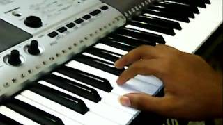 Yamma Yamma ~ 7am arivu on Keyboard with lyrics