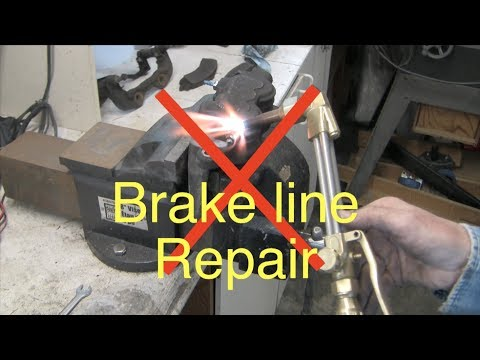 How to Replace Rusted GM brake lines