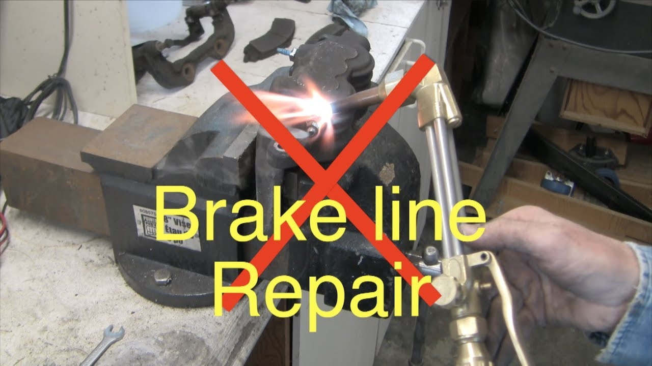 hight resolution of how to replace rusted gm brake lines
