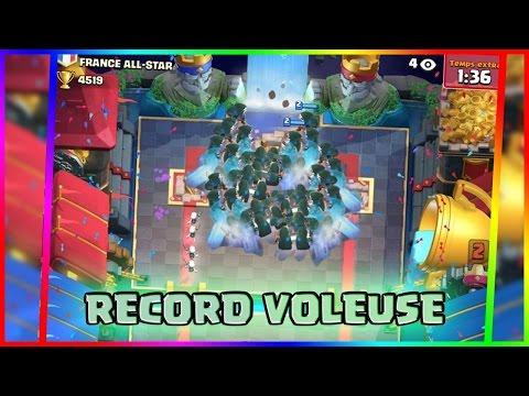 Clash Royale RECORD DU MONDE DE VOLEUSE