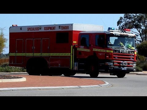 Specialised Equipment Tender Responding, Perth W.A. 28 July 2012