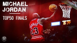 Repeat youtube video MICHAEL JORDAN TOP50 FINALS