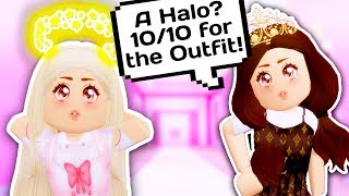 SHE ONLY LIKED ME FOR MY HALO // Roblox Star Sorority