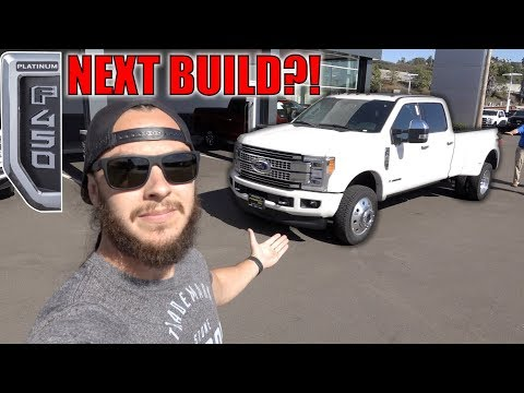 I'M READY TO START A DUALLY BUILD! (Platinum F450?!)