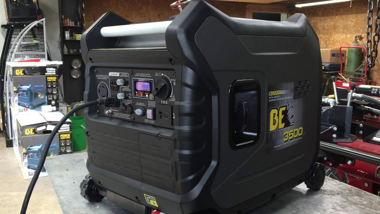 BE I3500L 3500 watt Inverter generator with electric start