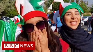 Iran football: Women attend first match in decades - BBC News