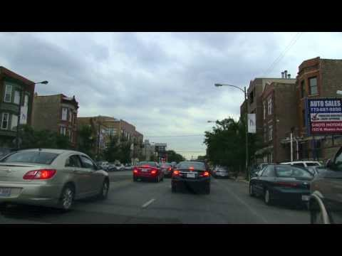 CRUIZIN'  CHICAGOLAND * WESTERN AVE.  UNIVERSITY PARK TO EVANSTON ILLINOIS REAL~TIME AUGUST 2013