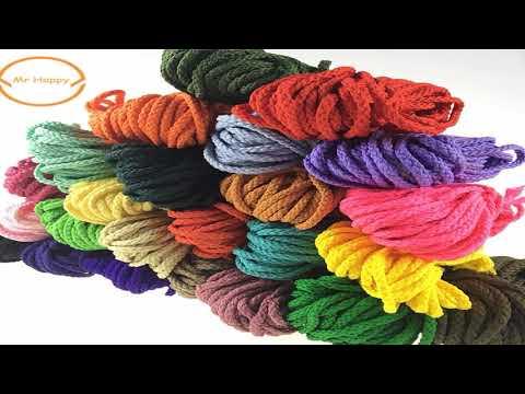 полиэфирный шнур с сердечником для вязания купить на алиэкспресс