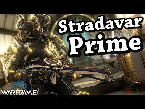 Warframe | Stradavar Prime (1 Forma Build) thumbnail