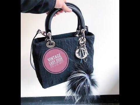 Best Vintage Bag Ever!!! Lady Dior Review