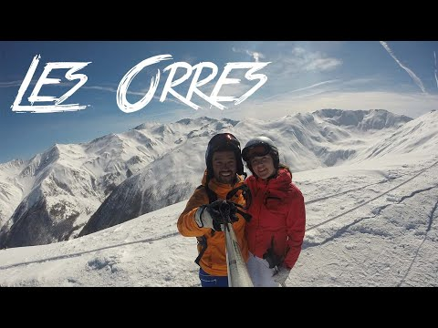 Les Orres skiing