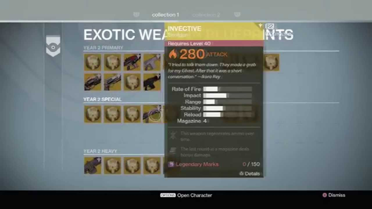 Destiny year 2 update exotic blueprints vault space much more youtube premium malvernweather Image collections