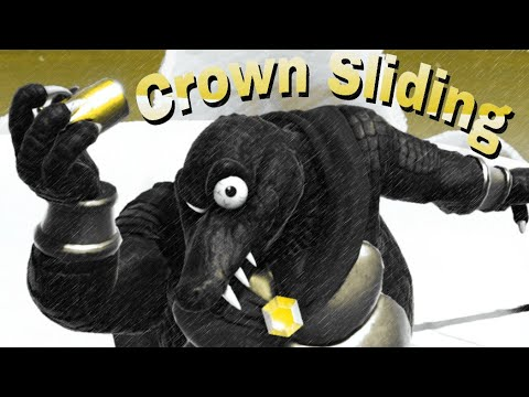 King K. Rool's Crown Sliding - Advanced Tech [Smash Ultimate]
