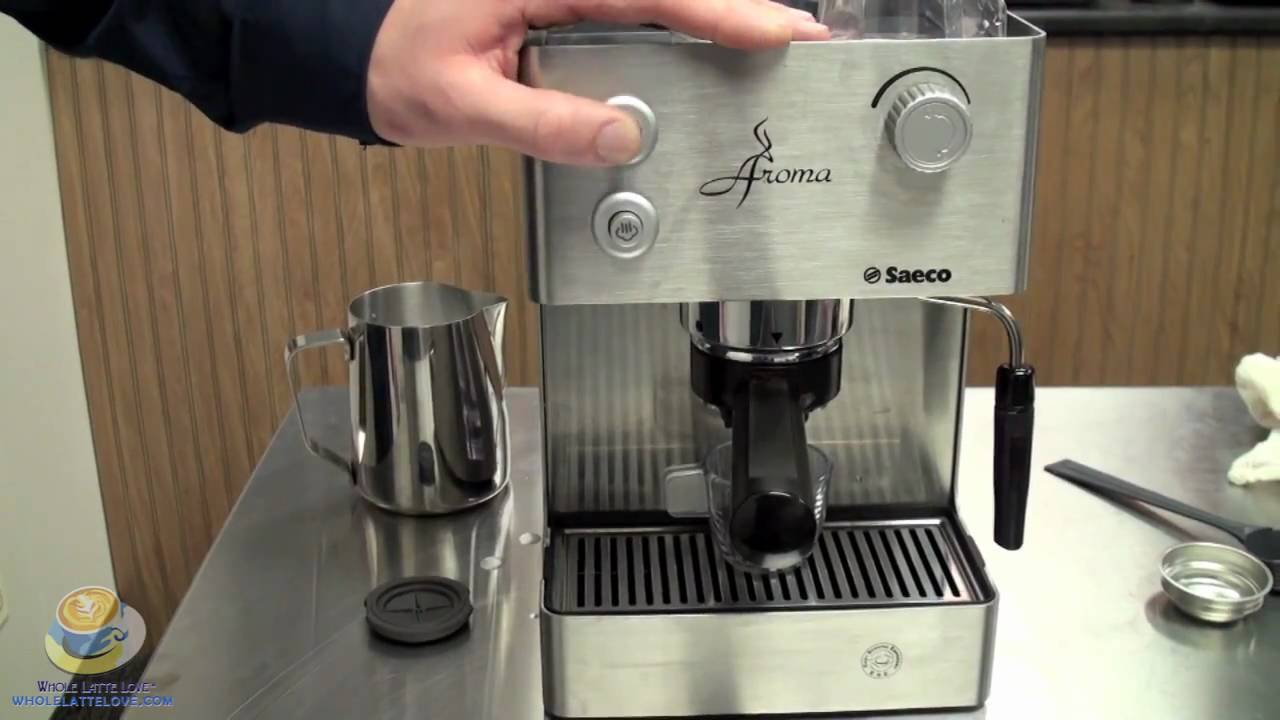 An Introduction To The Saeco Aroma Ss Semi Automatic Espresso Machine