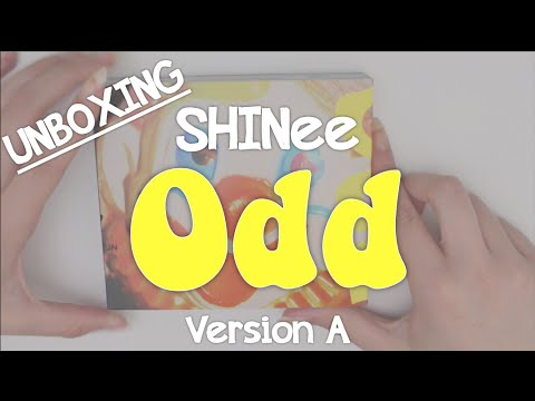 Unboxing: SHINee Odd (Version A)