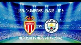 Прогноз на матч Монако - Манчестер Сити 15.03.2017