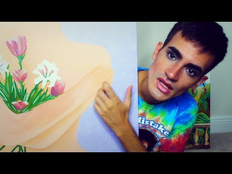 ASMR Shady Art Seller | Tapping, Scratching on Paintings | Roleplay