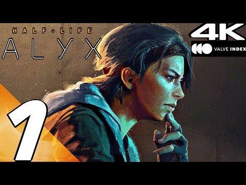 HALF-LIFE ALYX - Gameplay Walkthrough Part 1 - Prologue (4K 60FPS) Valve Index