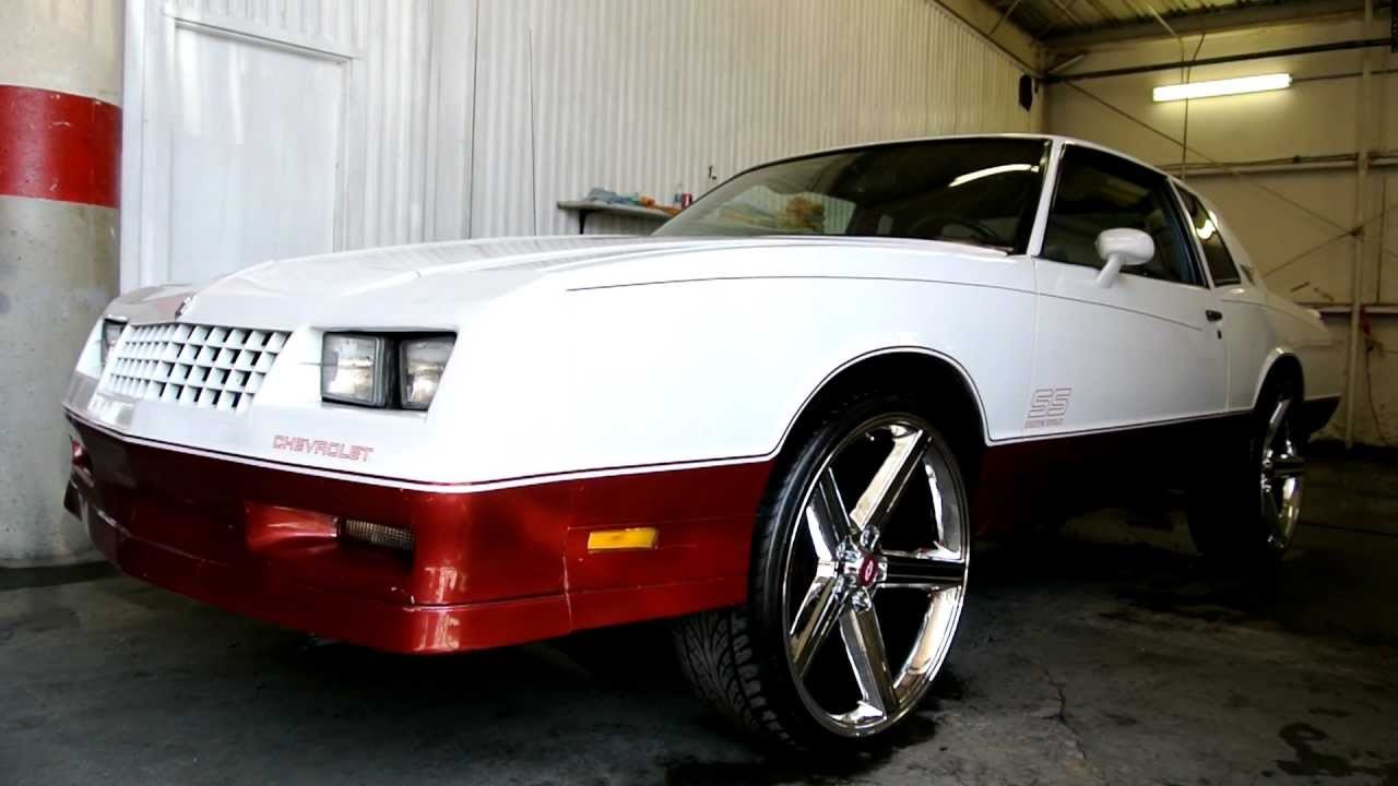 "Ss Monte Carlo >> Yung Docc 's 1985 Monte Carlo SS Super Sport G Body on 24"" Wheels Rap Jbrwn619 - YouTube"