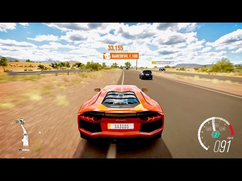Forza Horizon 3 Lamborghini Aventador LP 700-4