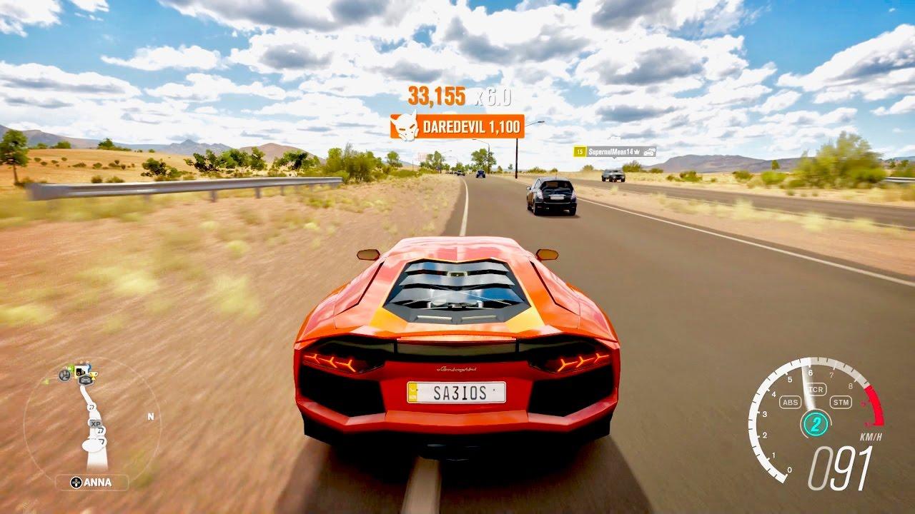 Forza Horizon 3 Lamborghini Aventador LP 700 4
