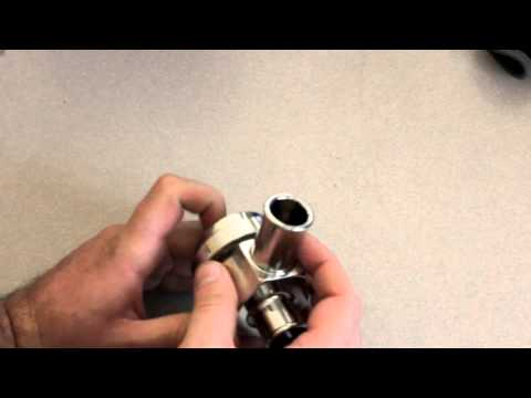 mixing valve hook up