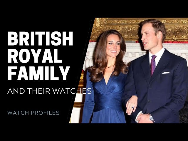 Watches of the British Royal Family | SwissWatchExpo [Watch Collection]