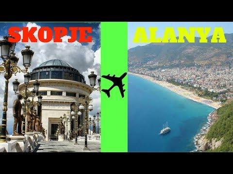 My Trip from Skopje, Macedonia to Turkey, Istanbul and Alanya!