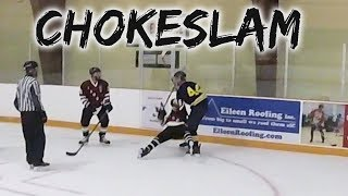 IS THIS THE WWE?! | GoPro Hockey | Beer League