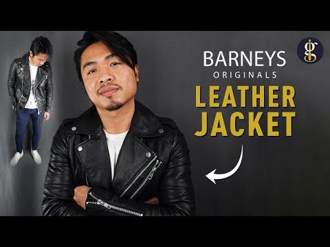 ASOS BARNEYS ORIGINALS Biker Jacket Review (Best Leather Jacket Series)