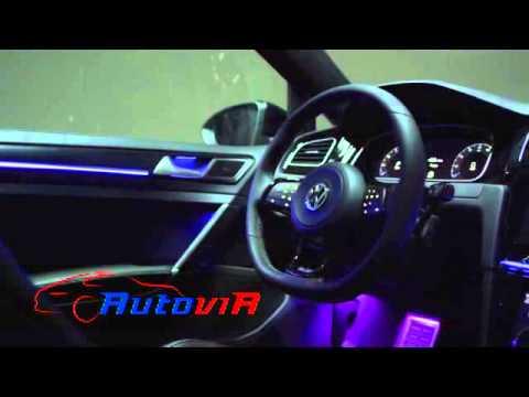 Volkswagen Golf R Touch  Luz Y Color De Ambiente Interior