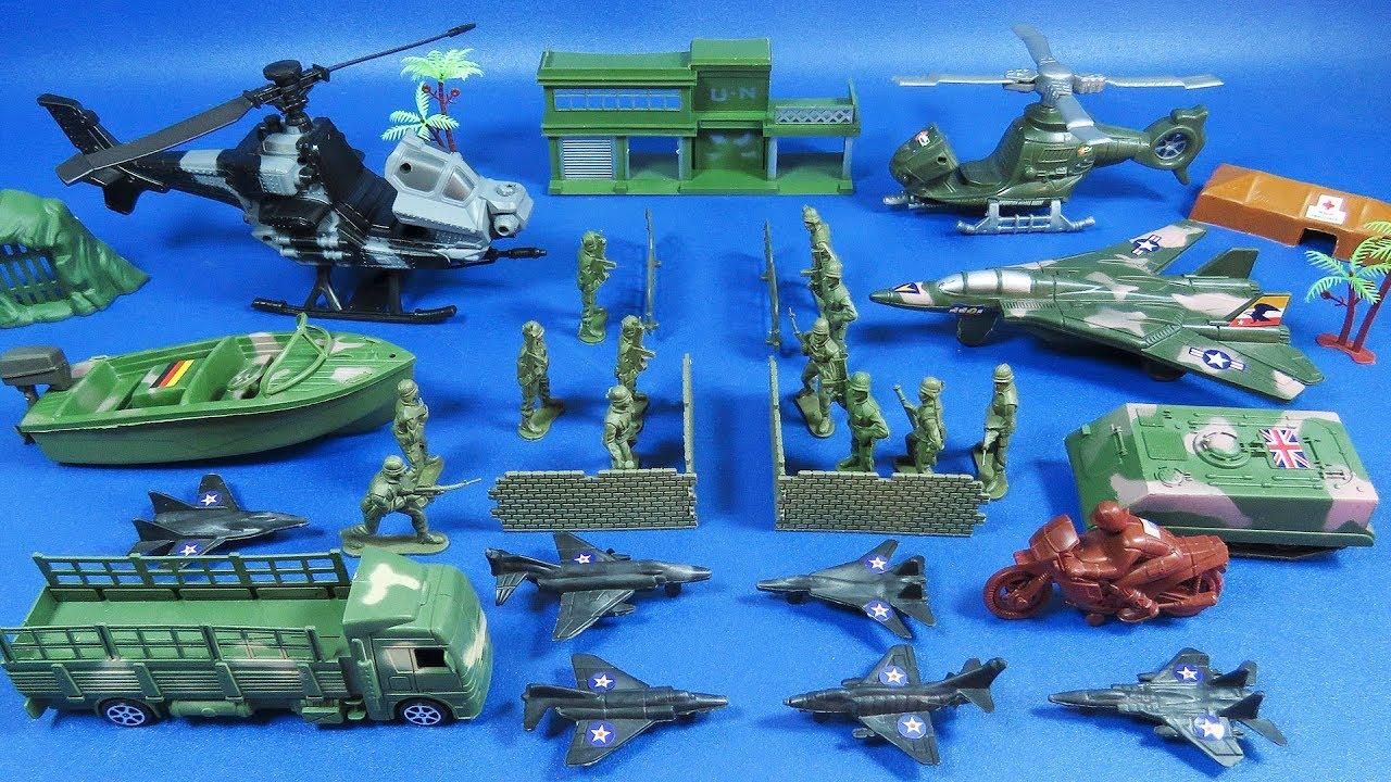 Soldados Bolsa De Militar JugueteMilitary Kids Y Artillería Review SetToys Y6ybf7vg