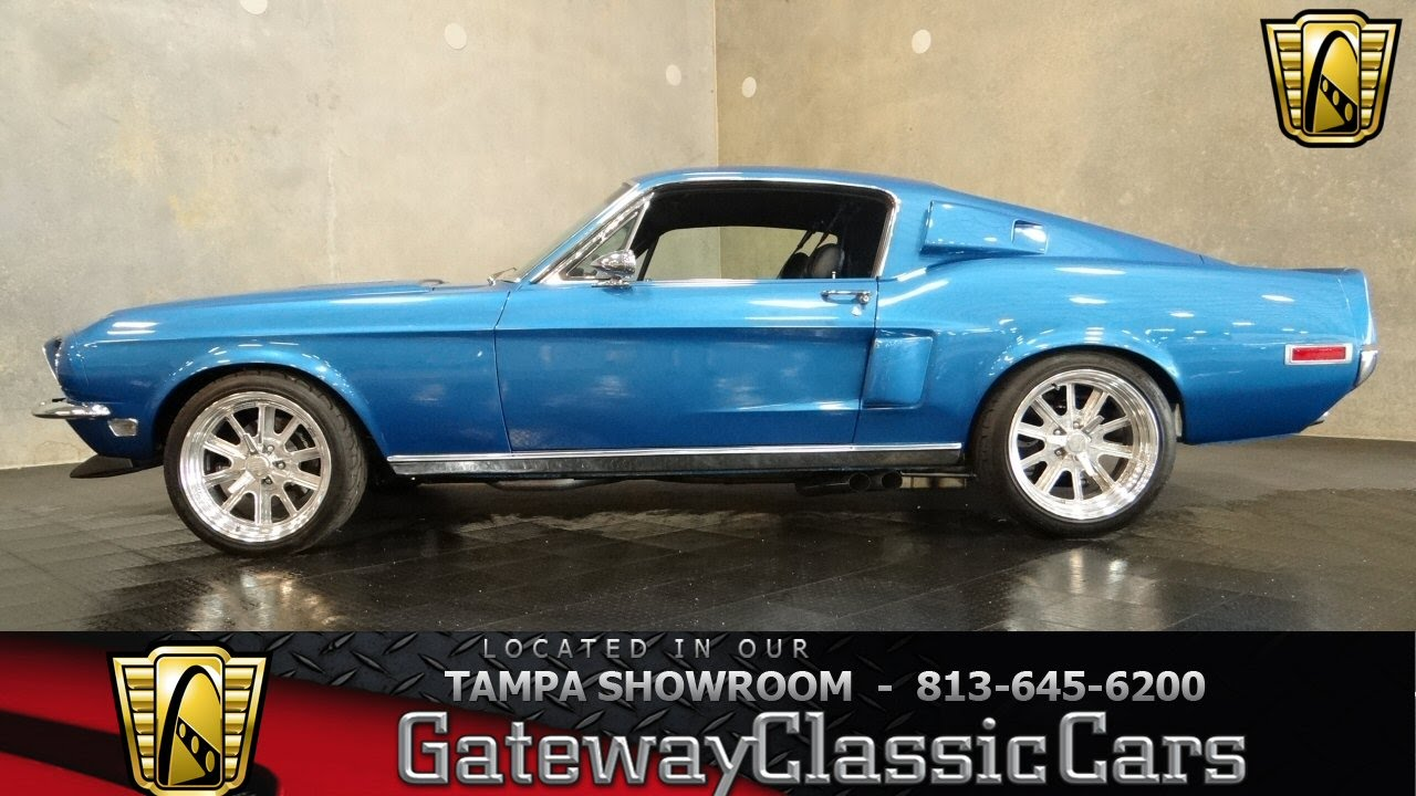 1968 Ford Mustang Fastback Youtube