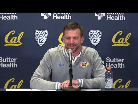 Cal Football 2020 Signing Day - HC Justin Wilcox Post 12/18/19