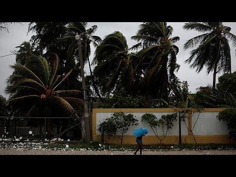 Hurricane Matthew batters